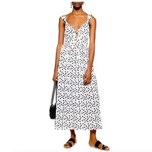 BNWOT Topshop || Heart Knot Maxi Dress
